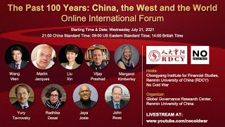 The Past 100 Years: China, the West and the World