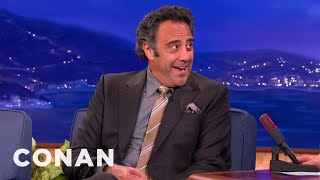Brad Garrett Bemoans His Tiny Manhood - CONAN on TBS