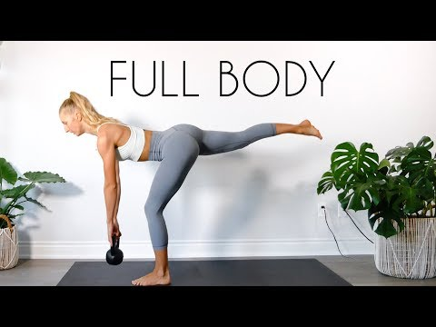 15 MIN FULL BODY Kettlebell Workout (At Home Workout)