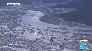 Japan launches major rescue operations after powerful typhoon floods