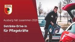 19/20 // Augsburg hält zusammen 2020 // FCA verteilt Getränke an Pflegekräfte