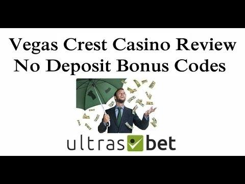 Vegas Crest Casino Review & No Deposit Bonus Codes 2019