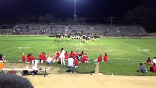 Mira Loma Dance Team - First Football Game 2013
