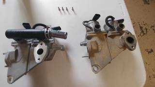 2012 Toyota Tacoma p2440 & p2442 Secondary Air Injection Valve fix part 5 Looking at damages valve.(, 2017-06-21T18:19:01.000Z)