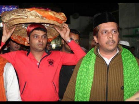 Bollywood actor Kapil Sharma visits Ajmer Sharif