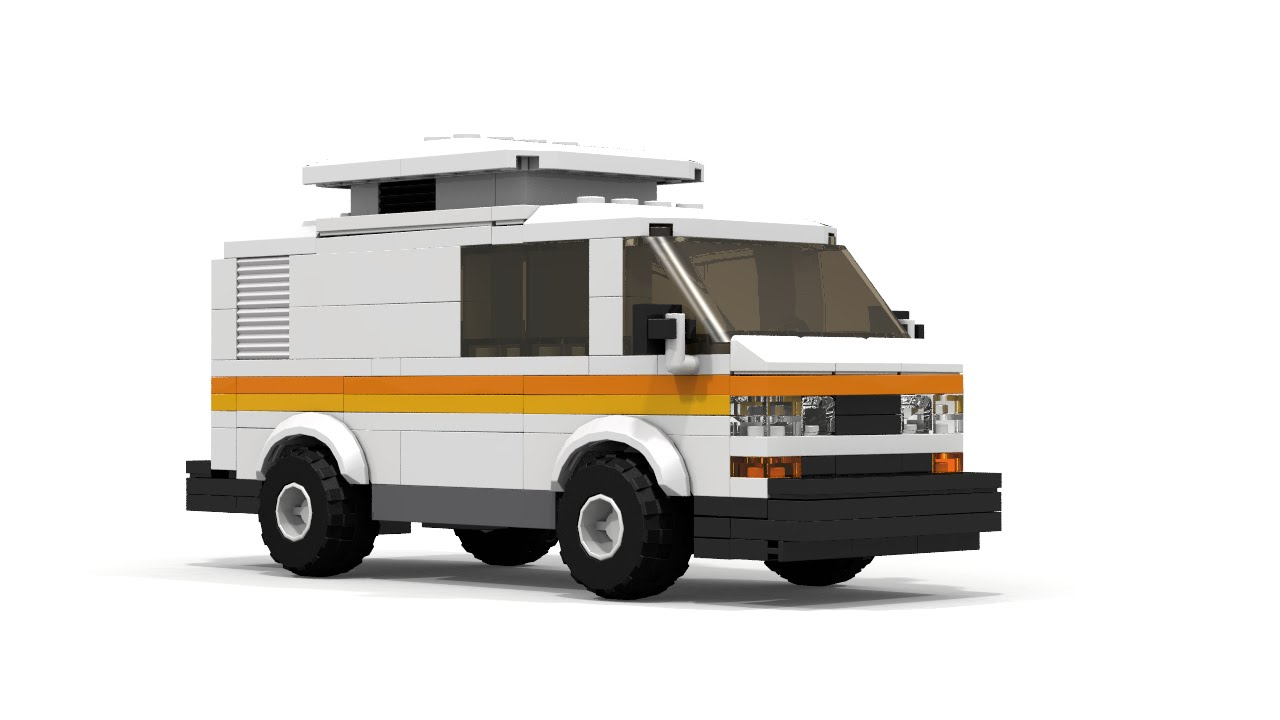 2016 Camper Van >> LEGO Volkswagen T3 Camper Van Building Instructions - YouTube