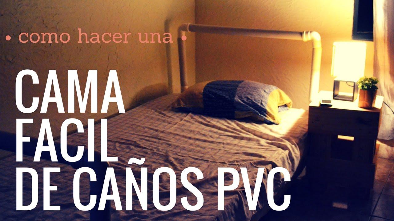 Como hacer una cama de ca os pvc pvc pipe empo ep 10 for Como construir una pileta de natacion de material
