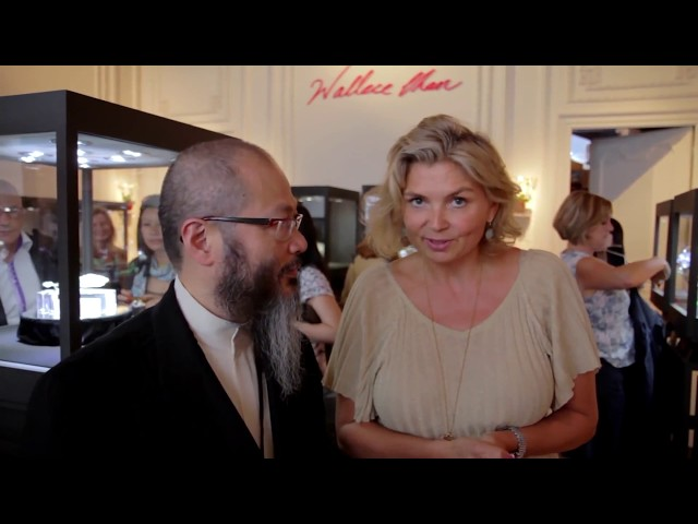 Wallace Chan jewellery at Biennale des Antiquaires 2012