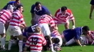 Rugby Union, 1999 Samoa vs Japan at Wrexham part 4.