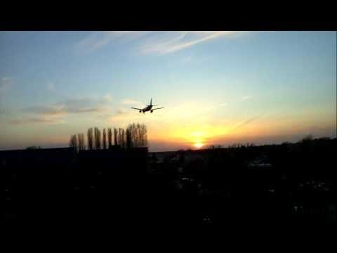 LG Optimus Speed 2x Air Berlin beim vorbei Flug :D