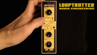 LOOPTROTTER - SAT500 on slap bass 01 - audio sample