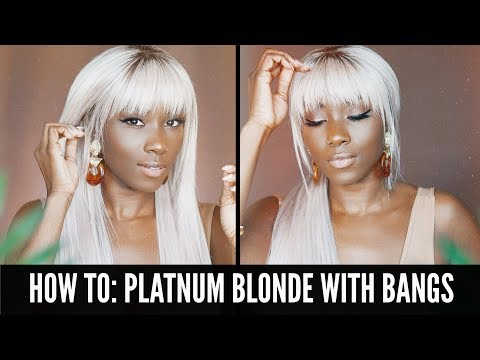 Platinum Blonde Lace Wig From Lwigs.com