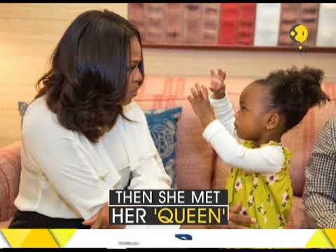 2 Year old Michelle Obama's Admirer