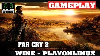 Tutorial e game play Farcry 2 no Linux