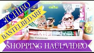 Tchibo Shopping Haul Video ♥ Bastelbedarf für Weihnachten ♥ Washi Tape Stanzer