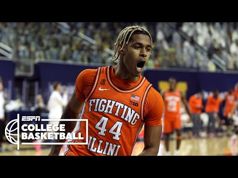 No. 4 Illinois dominates No. 2 Michigan [HIGHLIGHTS] | ESPN College Basketball