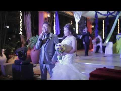 Marky + Regh Royal Blue Wedding Highlights 4.14.14