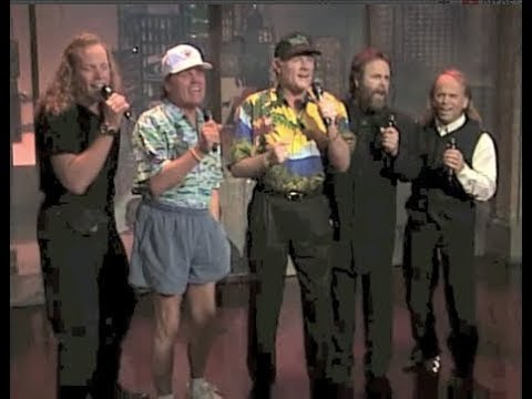 The Beach Boys Sing the Top Ten on Late Show, August 30, 1994 (full, stereo)