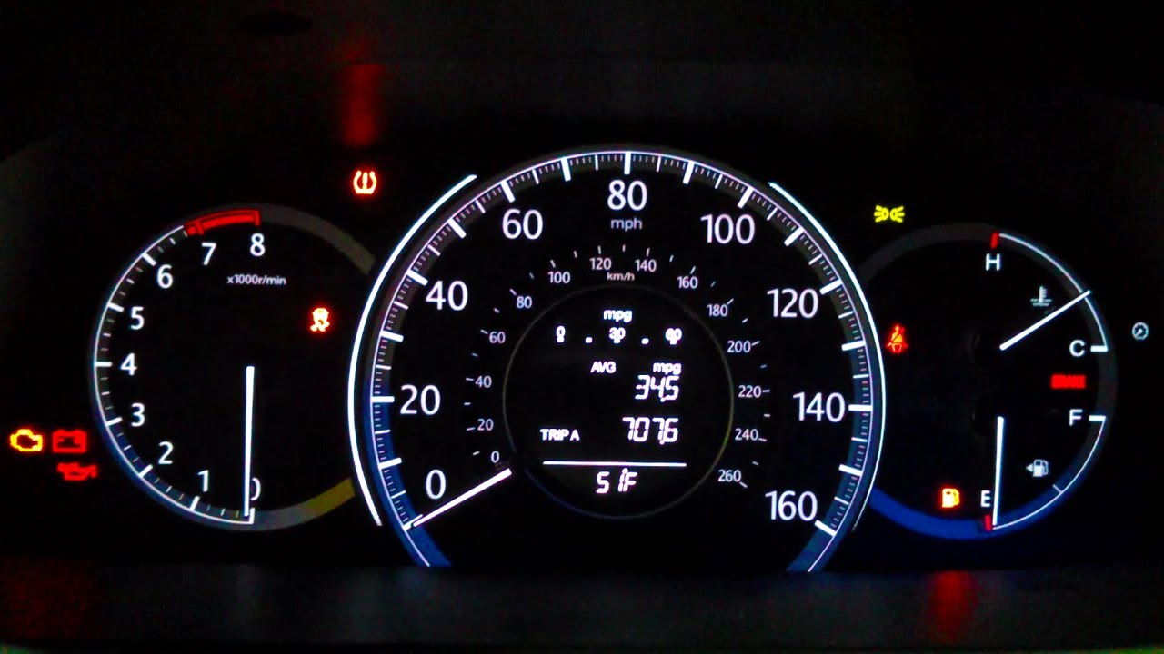 2013 Honda Accord  7076 miles In One Tank Fuel Efficiency Test