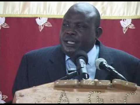 Inspiring Kalenjin orator