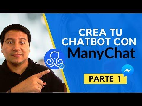 ¿Cómo Crear Tu Primer ChatBot Con Manychat? Paso A Paso Parte 1