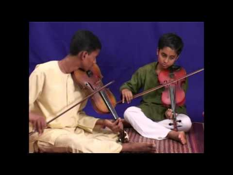 Ninnukori - Mohana Varnam - South Indian Carnatic Violin Lessons by A   Kanyakumari