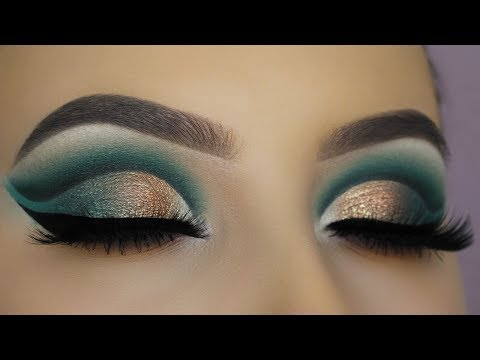 JACLYN HILL X MORPHE PALETTE - Smokey Cut Crease Tutorial (2)
