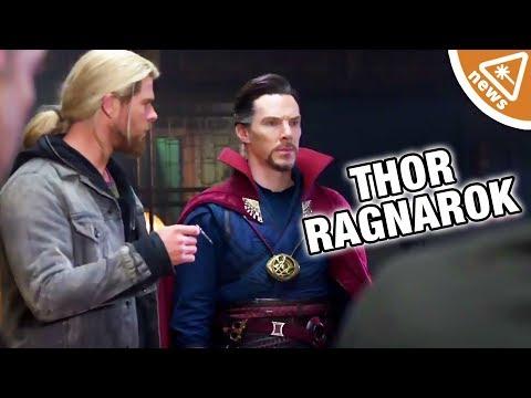What Does Doctor Strange's Cameo Mean for Thor Ragnarok? (Nerdist News w/ Jessica Chobot)