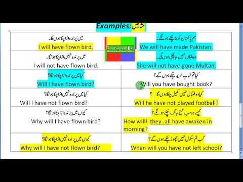 Future Perfect Tense - 11 - by Muhammad Akmal Rahim 0300-7384763