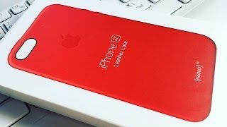 Кейс Apple для iPhone SE Leather Case Red за 2990р