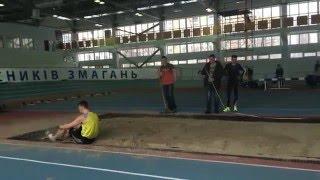 Тарас Полищук 7,36 - Кубок КМШВСМ 2016 в 4К