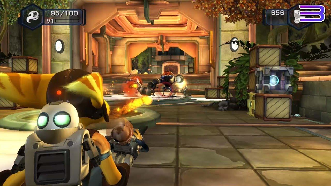 Rpcs3 Ps3 Emulator Ratchet Clank Tools Of Destruction Ingame