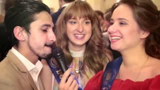 Юмористическое видео интервью #1