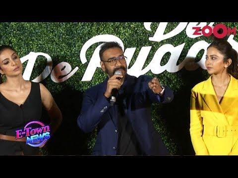 Ajay Devgn REACTS On Alok Nath Controversy At 'De De Pyaar De' Trailer Launch