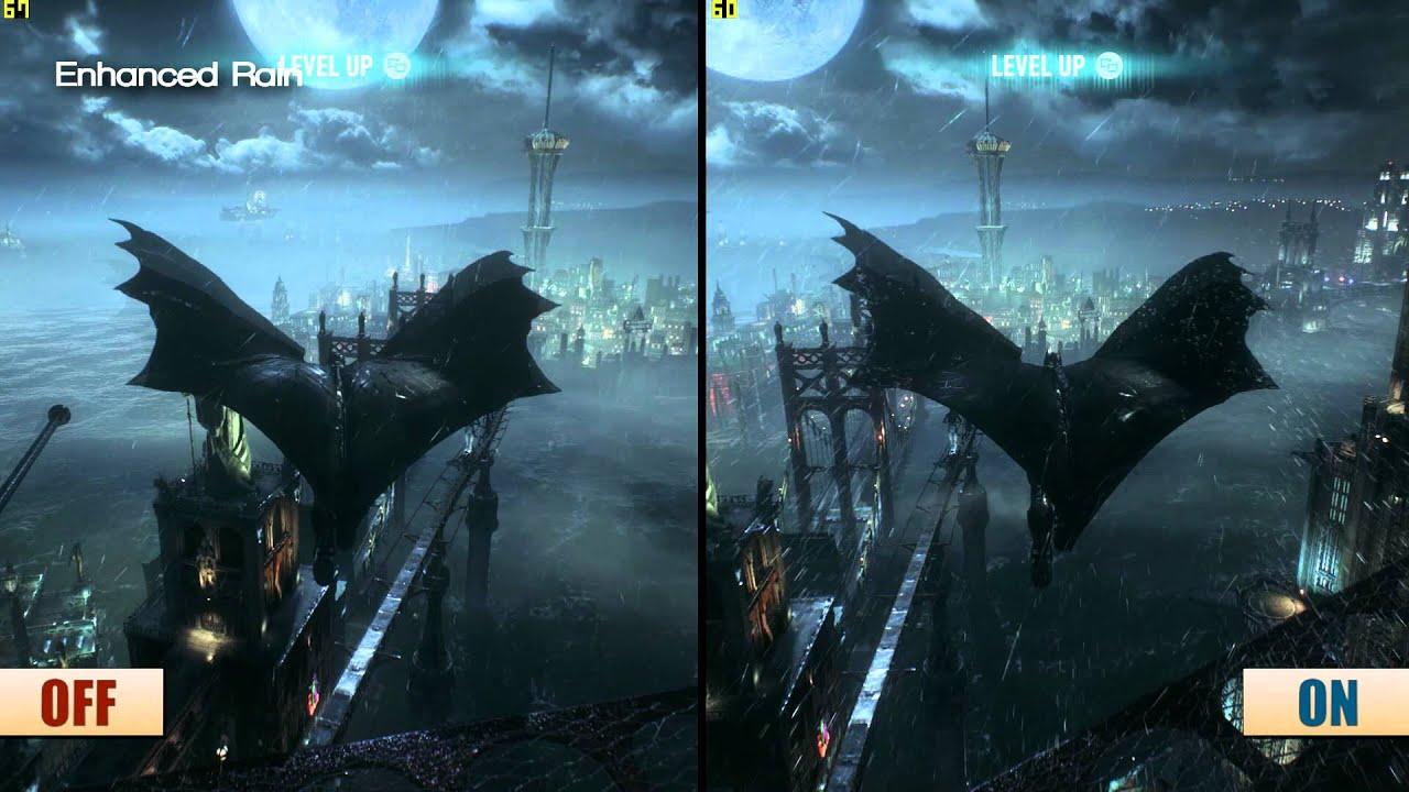 Pc Game 3d Wallpaper Batman Arkham Knight Pc Gameworks Graphics Frame Rate