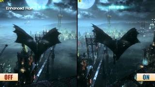 Batman Arkham Knight PC Gameworks Graphics Frame Rate Analysis
