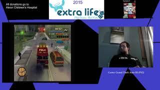 Extra Life 2015: Part 16B - Grand Theft Auto III