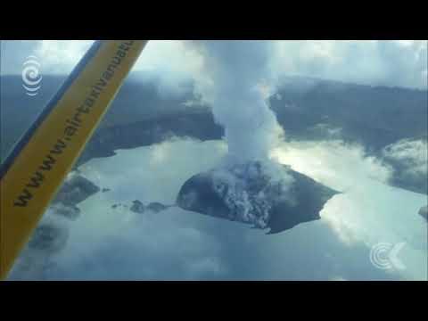 Vanuatu struggling with Ambae mass evacuation