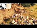 Jurassic World Evolution: T-REX Escape - Dino Rampage & Park Destruction