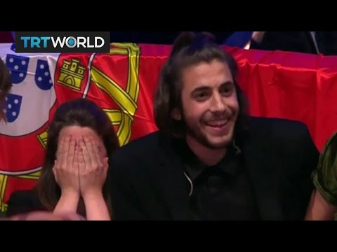 Eurovision 2017: Tender ballad by  Portugal's Sobral wins contest
