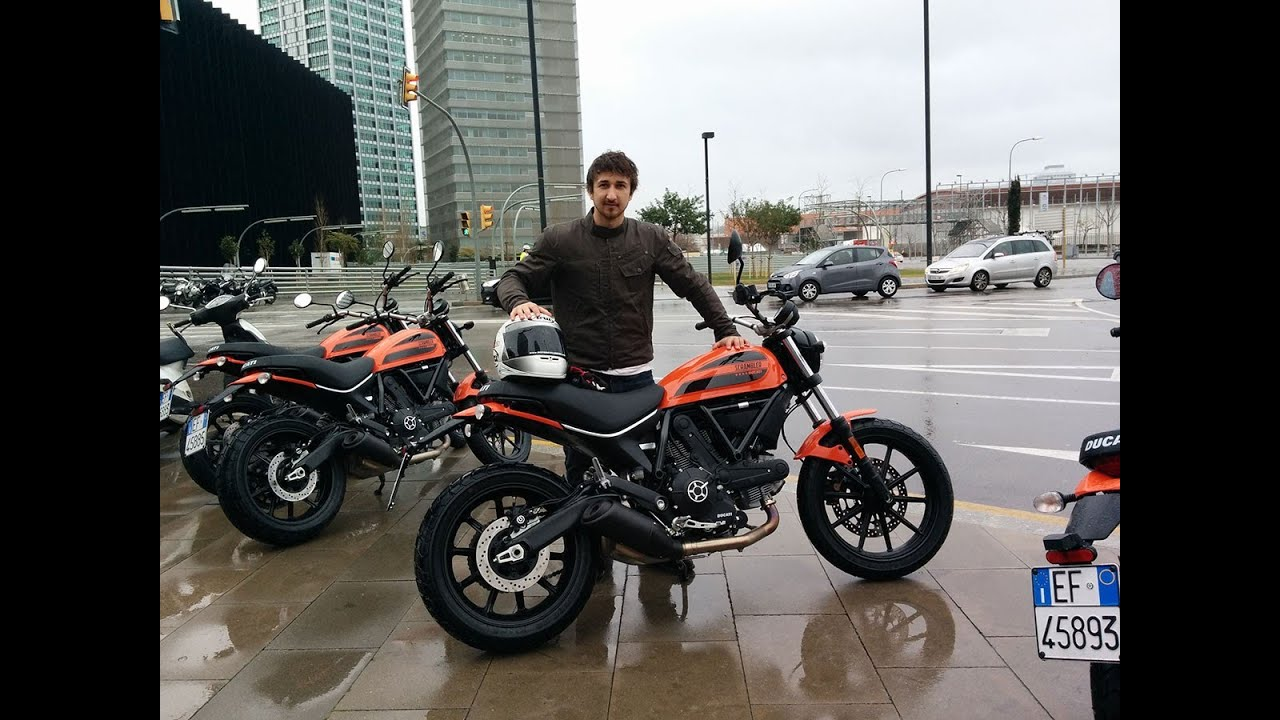 ducati scrambler sixty2 first ride - youtube