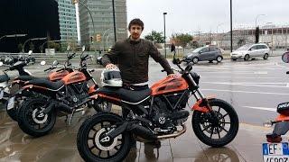 Ducati Scrambler Sixty2 first ride
