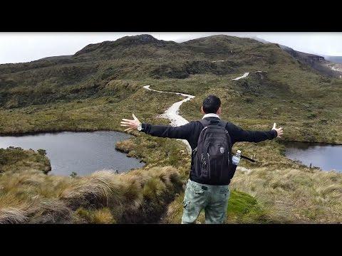 Como subir al volcán de Puracé Cauca - Colombia cadena volcánica Coconuco