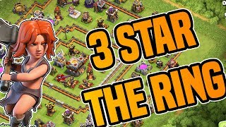 DEFEAT the TH10 RING BASE | 3 STAR ATTACK STRATEGIES | Clash of Clans