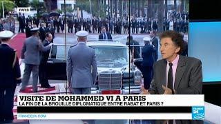 Mohammed VI à Paris : Maroc, France, la réconciliation ? Jack Lang répond sur FRANCE24