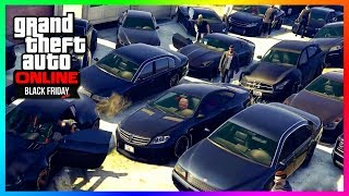 GTA Online Black Friday 2017 Update Special - NEW DLC Cars Spending Spree, Blackout Party & MORE!