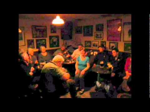 Mick Lavelle the legendary Story Teller & Irish Music Matt Malloy's Pub Bar, Westport, County Mayo -