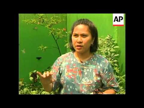 PHILIPPINES: MANILA: FIRST BUTTERFLY FARM OPENS