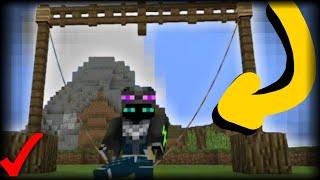 ¡Cómo Hacer Un Columpio Que Funciona SIN MODS En Minecraft PE 1.5! | Columpio Sin Addons!!
