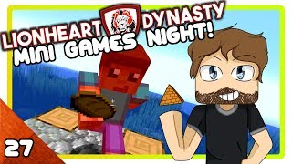 Minecraft 1.13 Mini Games Night | #27 | Lionheart S2 Courage a Minecraft Lets Play